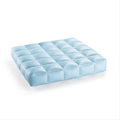 Pigro Felice - Modul\'Air Aufblasbares Pool-Sitzkissen - Widerstandsfähige Materialien - Lange Lebensdauer - Premium - Wasserblau