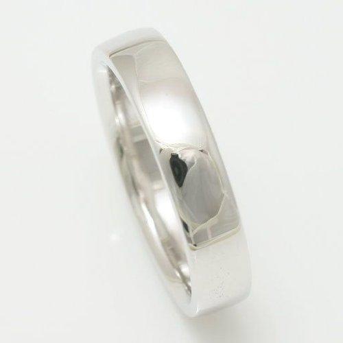 [ココカル]cococaru シルバー リング Silver 指輪 シンプルデザイン 平甲丸4mm 21号 日本製 本格派シリーズ