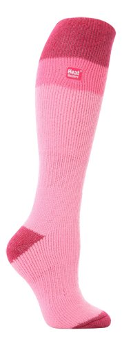 LONG SKI Heat Holders Thermal Socks womens Baby pinkRasberry 4 8 uk 37 42