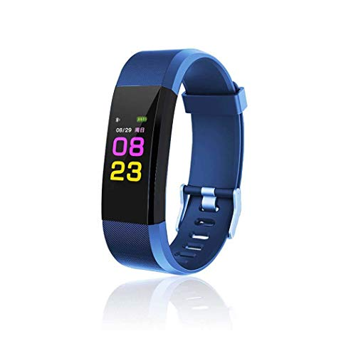 Dongtu Smart Wristband with Heart Rate Monitor/Sleep Quality Monitor/Steps Counter/GPS Tracker and More, Smart Wristband Watch for Android and iOS Clips, Arm & Wristbands