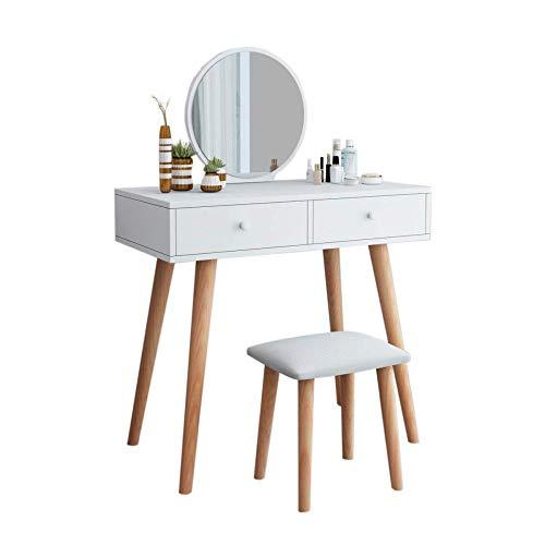 FENGFAN make-up spiegel dressoir tafel, meisje dressoir tafel slaapzaal dressoir tafel slaapkamer dressoir tafel