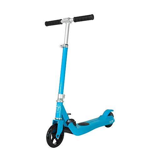 Patiente eléctrico OLSSON - Patinete eléctrico Fun Infantil Azul. hasta 50kg de Peso, Motor híbrido 100W