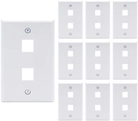 18 port keystone wall plate _image1