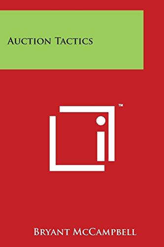 Auction Tactics