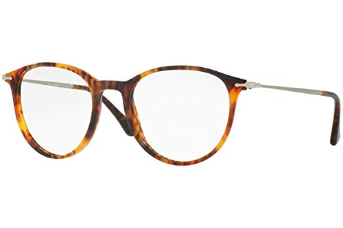 Persol PO3147V Brillen 50-19-140 Licht Havana Mit Demonstrationsgläsern 108 PO3147V PO PO 3147V 3147V
