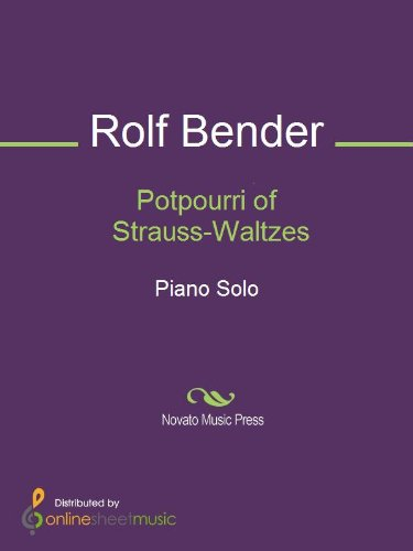 Potpourri of Strauss-Waltzes - Piano (English Edition)