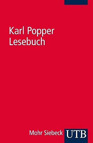 Lesebuch: Ausgewählte Texte zur Erkenntnistheorie, Philosophie der Naturwissenschaften, Metaphysik, Sozialphilosophie (Uni-Taschenbücher 2000)