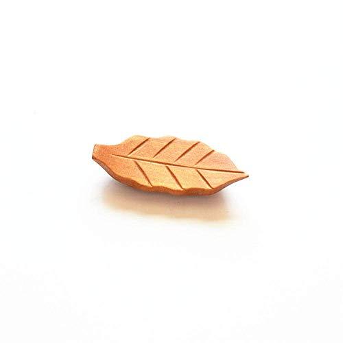 WACR 10pcs Palillos descansan Almohada de Estilo japonés, Palillos de Madera Naturales Soporte de Palillos de Palillos de Soporte de Apoyo Accesorio de Cocina-C 10pcs Chopstick (Color : C 10pcs)
