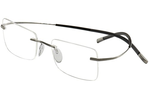 Silhouette Eyeglasses Titan Minimal Art Chassis 7581 6061 Optical Frame 17x150mm