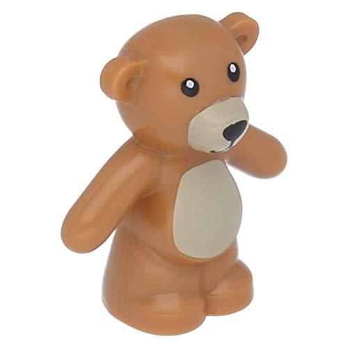 LEGO® Teddy Bär - Arme runter Mittel-Dunkel-Fleischfarben