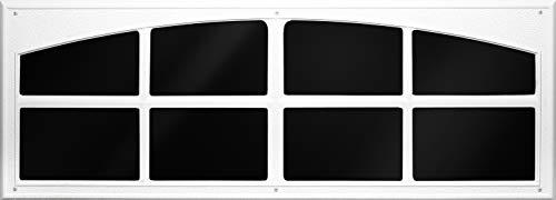 Coach House Accents Signature Décor Simulated Garage Door Window (2 Windows per kit) - White - Model AP143199