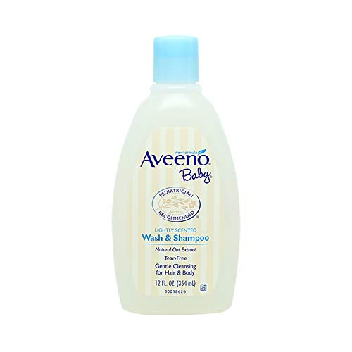 Aveeno Baby Wash and Shampoo - 12 oz