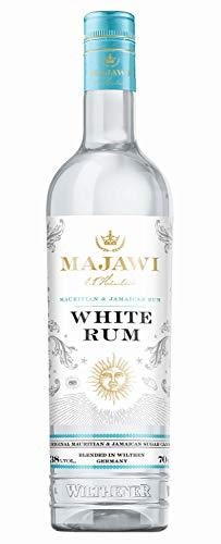 MAJAWI White Rum, weißer Rum mit 38% vol., Rum Komposition aus Mauritius, Jamaika und Wilthen
