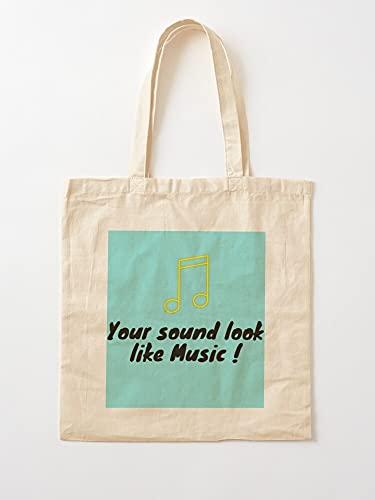 Générique Sound Heart Music Notes My Your Voice are | Einkaufstaschen aus Leinen mit Griffen, Einkaufstaschen aus nachhaltiger Baumwolle