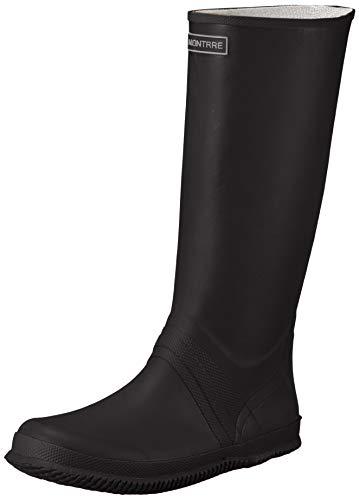 [アキレス] レインブーツ 長靴 折りたたみ可能 軽量 レディース メンズ ILB 0760 ブラック 24.5~25.0cm