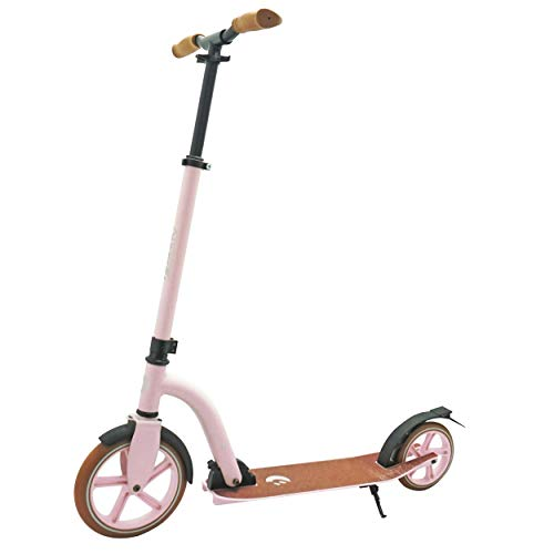 Best Sporting Vintage Scooter 230er Rolle Aluminium, Roller für Kinder und Erwachsene, Limitierte Stückzahl (Pink, Adults Rolle 230/180)