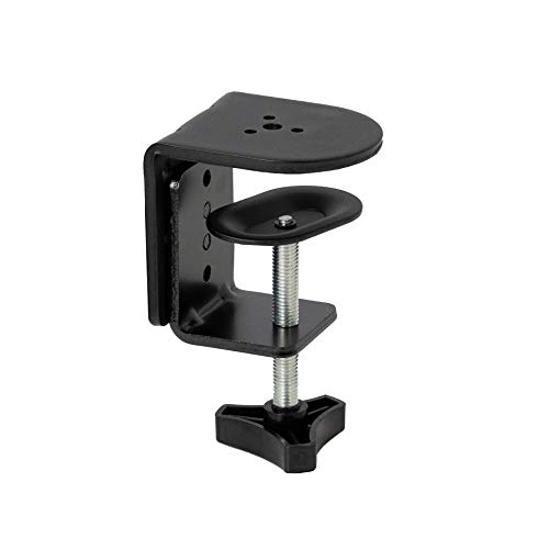 VIVO Black Heavy Duty Desk Clamp for Monitor Mount Stands Sturdy 4 Inch Cclamp PTSDCP01A