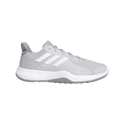 adidas FitBounce Trainer W, Zapatillas de Cross Training Mujer, Gridos/FTWBLA/ROSINT, 45 1/3 EU
