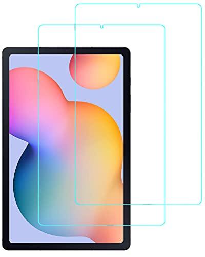 Eachy Cristal Templado Samsung Galaxy Tab S6 Lite (SM-P610/P615), [2 Unidades] Protector...