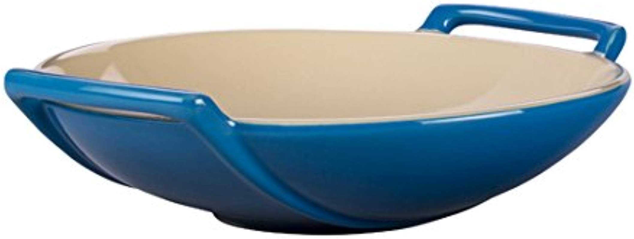Le Creuset Stoneware Wok Dish 28 Ounce Marseille