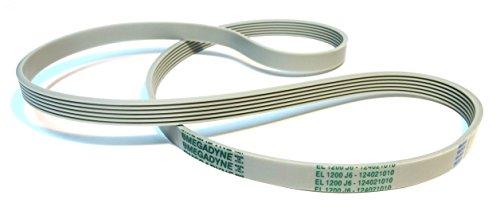 Megadyne - Courroie de lave-linge EL 1200 J6 (124021010)