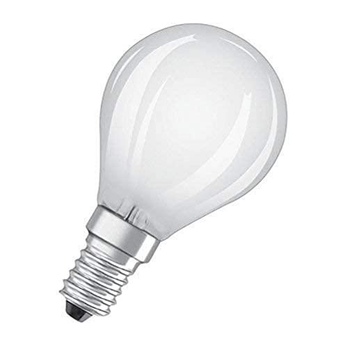 Osram Star+ Ampoule LED à Filament Haute Définition des Couleurs   Culot E14   Forme Sphérique   Blanc Chaud 2700K   5W (équivalent 40W)