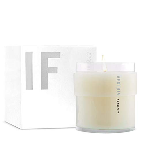 APOTHIA | IF Candle | Modern White Floral & Citrus | Naturally Derived Soy Wax Blend | Cruelty-Free Candle | Up to 60 Hour Long Burn Time | 9 oz