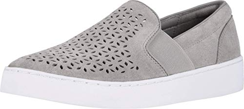 Vionic Women's Splendid Kani Slip-on Walking Shoes - Ladies Athleisure Sneakers with Concealed Orthotic Arch Support Light Grey 7 Medium US