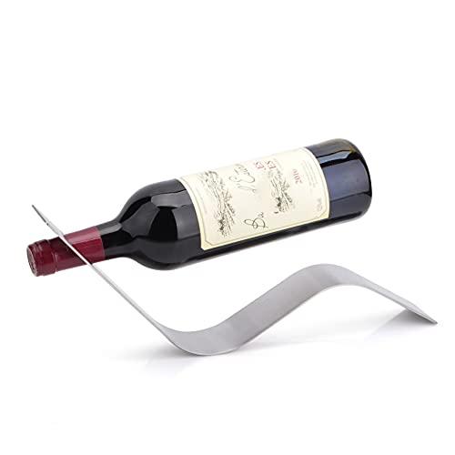 Tapa De La Botella del Estante del Vino De La Forma del Soporte De Hollo Sala De Estar Porche 36.5X5X13CM HAODAMAI