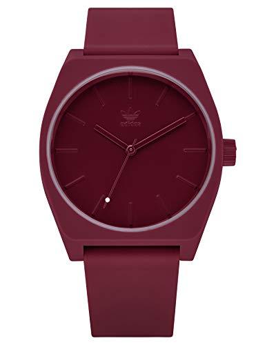 Adidas Unisex Analog Quarz Uhr mit Silikon Armband Z10-2902-00