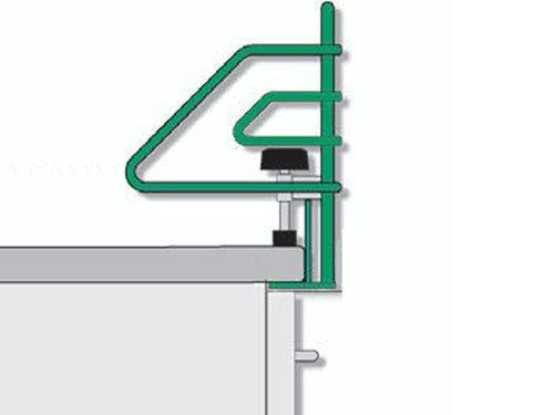 SO-Tech® Rejilla Protectora para Placa de Cocina Pinza de Bloqueo Infantil Barrera de Seguridad para Estufa para 60cm…