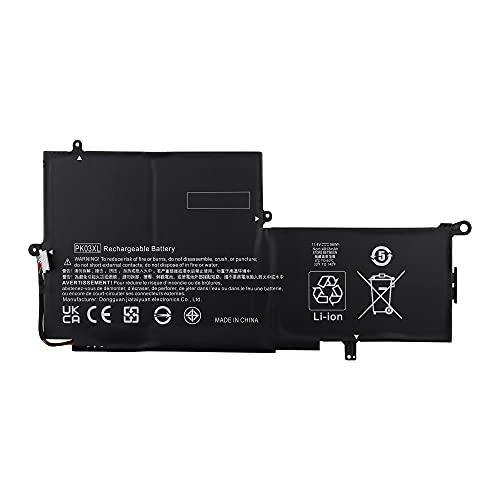 Vvsialeek PK03XL HSTNN-DB6S Batteria di ricambio per HP Spectre 13 Pro X360 G1 G2 13-4100 4200 4001NG 4000NG 4159NG 4104NG 4132NG 4230NG 4231NG 56Wh