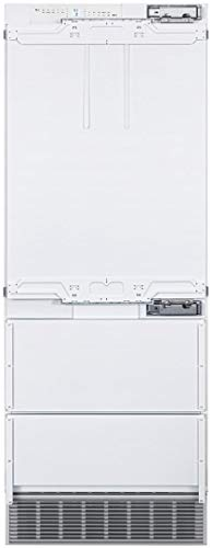 """Price comparison product image Liebherr HCB1580 30"""" Integrated Right Hinge Bottom Freezer Refrigerator with 14.1 cu. ft. Capacity NoFrost and Star-K Certified in Panel Ready"""