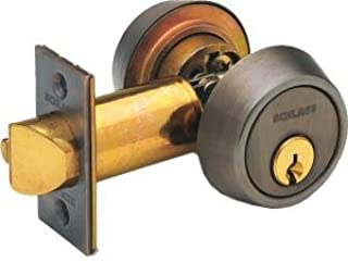 Schlage B252PD Double Cylinder Deadlatch w/ Standard Keyed Cylinder