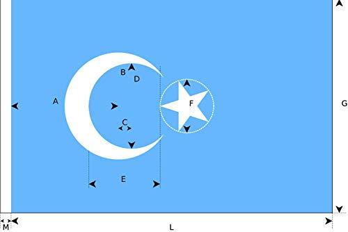 Top uyghur flag 3×5 for 2021