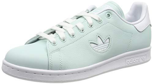 adidas Damen Stan Smith Gymnastikschuhe, Grün (Ice Mint/FTWR White/Ice Mint Ice Mint/FTWR White/Ice Mint), 41 1/3 EU