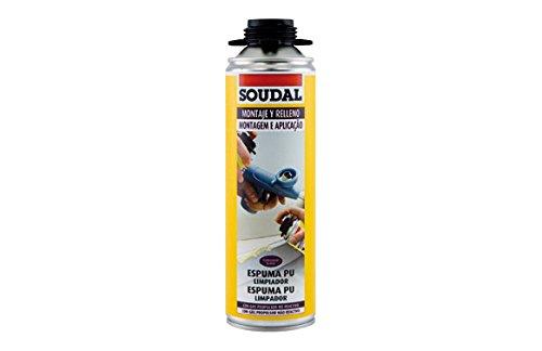 Soudal 42117188 Limpiador de espuma poliuretano 500ml