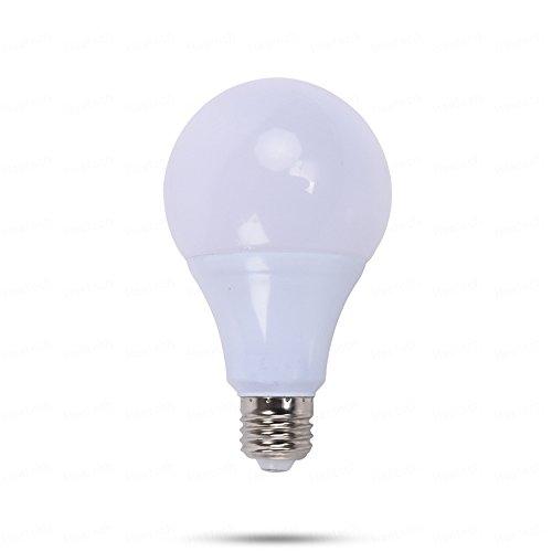 YITEJIA-LIGHTBULBS Hoogwaardig LED-licht 1 stuk E26 E27 12 Volt LED-lampen, 5 Watt AC/DC 12-24 V laagspanning gloeilampen, 3000 karaat / 6000 karaat voor RV Camper Marine, Off Grid en Solar lamp