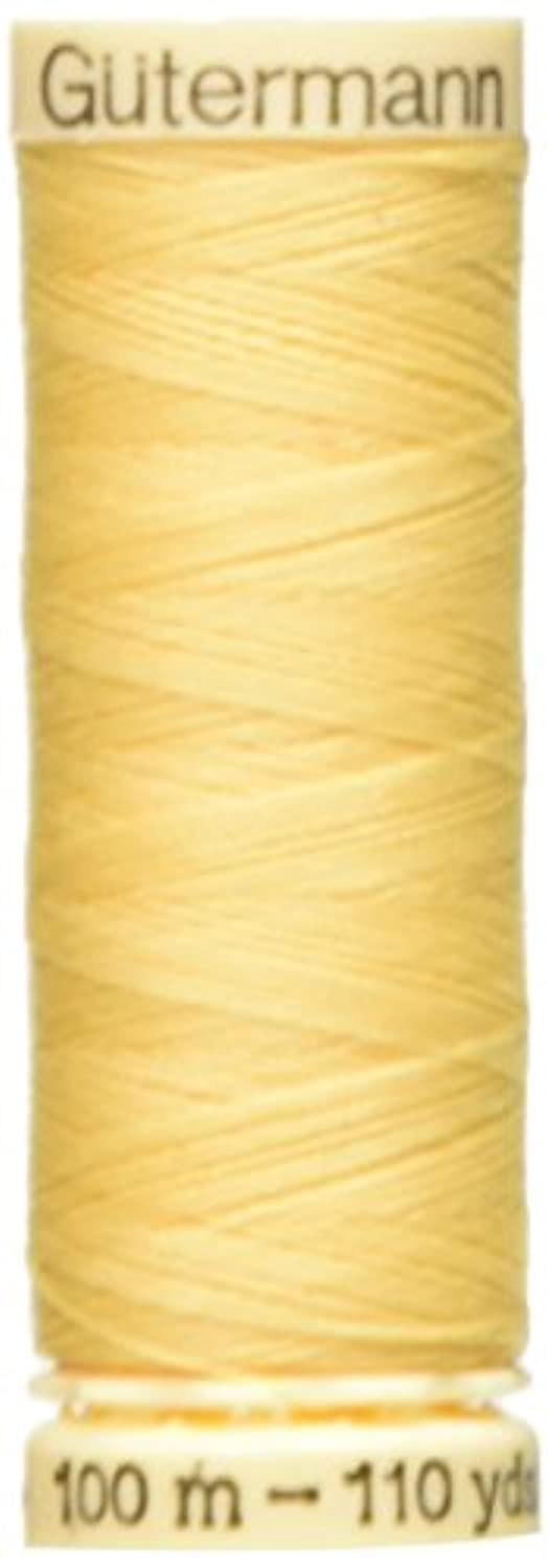 Gutermann Sew-All Thread 110 Yards-Maize Yellow