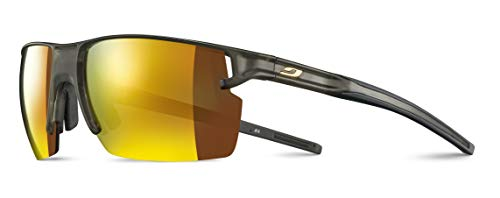 Julbo Unisex Outline Sonnenbrille transluzent khaki/dunkelgrau, Medium