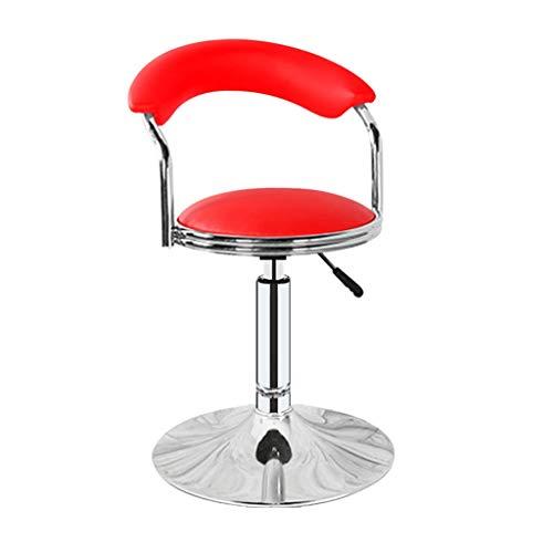 BAR STOOL LF Fashion - Silla de bar creativa para el hogar, respaldo alto, giratorio, taburete alto, taburete para el desayuno, taburete para restaurante