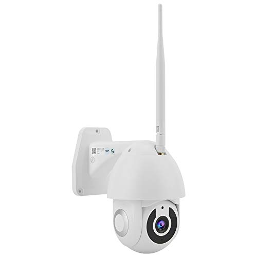 zcyg Cámara Cámara de vigilancia Cámara de Seguridad Cámara Inalámbrica, Cámara De PTZ De Seguridad Inteligente WiFi HD De 1080p HD (100-240V AU Enchufe)