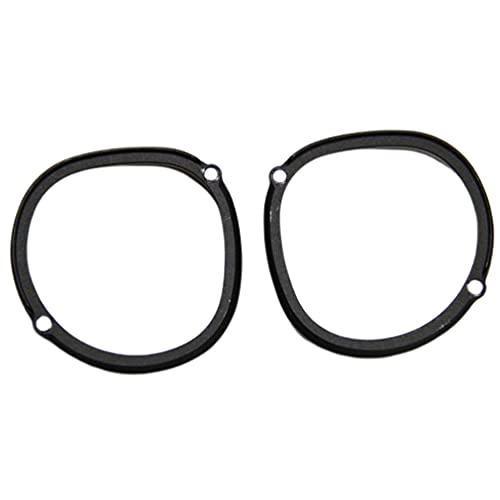 Armação de óculos de proteção da lente para Oculus Quest 2 Óculos para Quest For Rifts preto