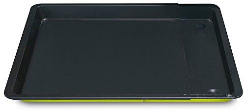 Guardini Smart Colors Moule rectangulaire Extensible, Acier, Vert