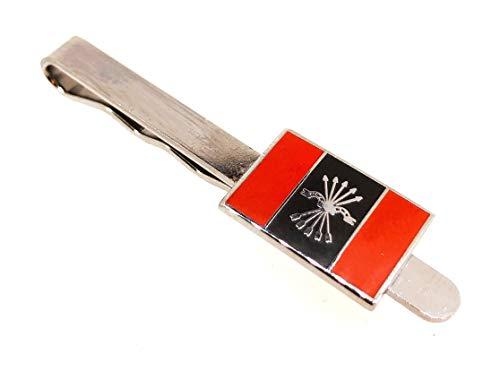 Gemelolandia Pasador de corbata Emblema Falange | Pisa Corbatas Para usar en Bodas y en Eventos formales - Da un toque Elegante