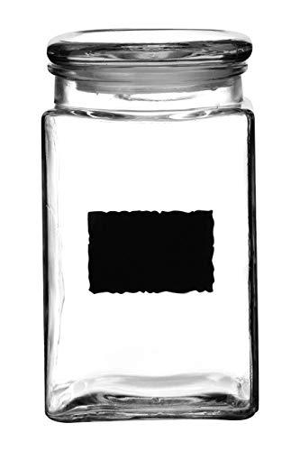 Premier Housewares förvaringslåda för tavla-97 kg, glas, klar, 11 x 11 x 18