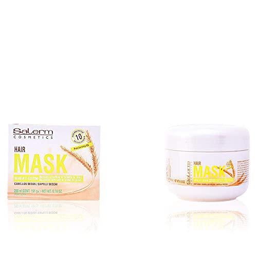 Salerm Cosmetics Salerm 21 Mascarilla Wheat Germ Hair 200 ml, Pack 2x1. Mascarillo capilar, mascarilla de pelo.