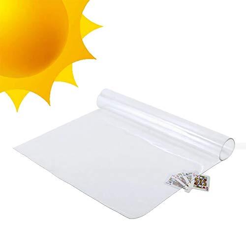 Teloni Telone di Vetro Trasparente, Copertura dello Strato di Terra, Pianta del Balcone Resistente Panno di Plastica Resistente Alla Pioggia della Tenda da Sole, 0,3 Millimetri (Size : 2X3m)