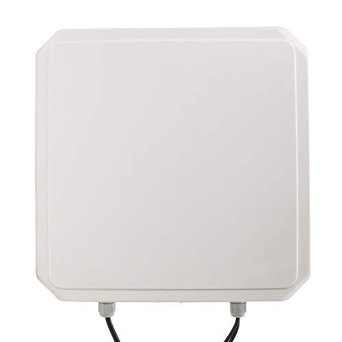 YIYIYBY IP65 RFID-UHF 5M Long Range Lector de Tarjetas de Escritura 8bit RS232//485//Wiegand Reader Sistema de Aparcamiento Control de Acceso