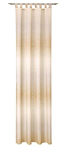 Deko Trends Schlaufenschal, Stoff, beige-braun, 245 x 140 x 0.1 cm